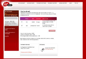 Virgin Broadband My Account