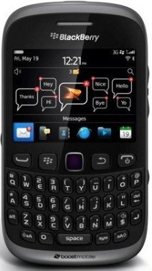 Boost Mobile BlackBerry Curve 9310