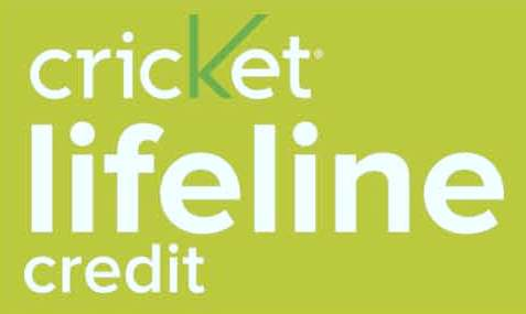 Cricket Lifeline Credit