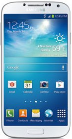 Cricket Samsung Galaxy S4 White