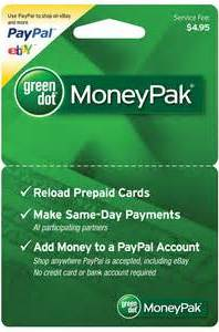 Green Dot MoneyPak