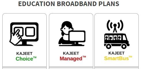 Kajeet Education Broadband Plans