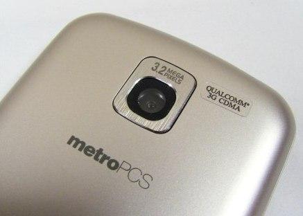 MetroPCS LG Optimus M Back