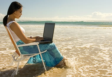 Mobile Broadband Beach