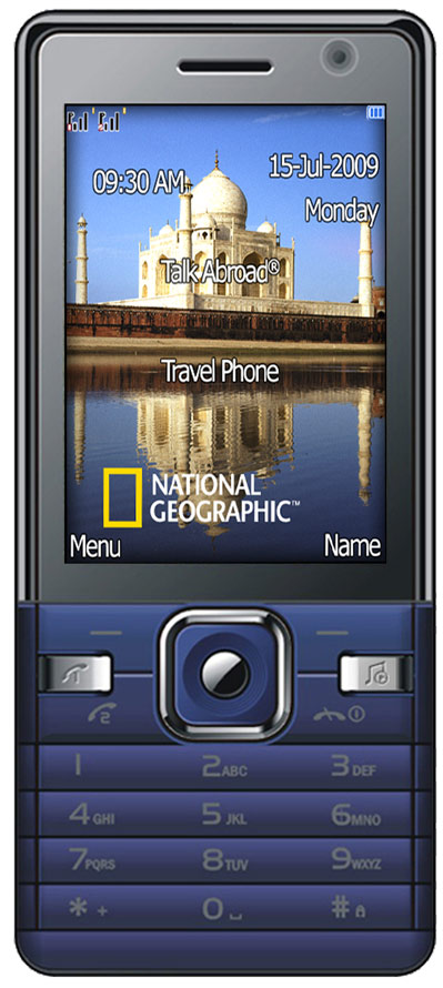 National Geographic International Travel Phone