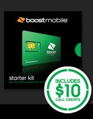 Boost Mobile Starter Kit