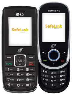 SafeLink Free Prepaid Cell Phone