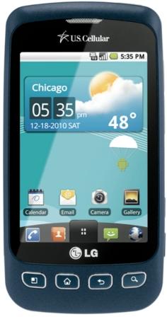 US Cellular LG Optimus U Prepaid Smartphone