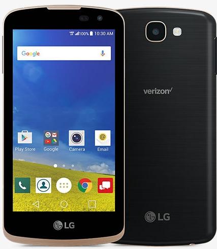 Verizon LG Zone 4 Prepaid Smartphone