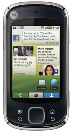 Walmart Motorola CLIQ XT Prepaid Smartphone